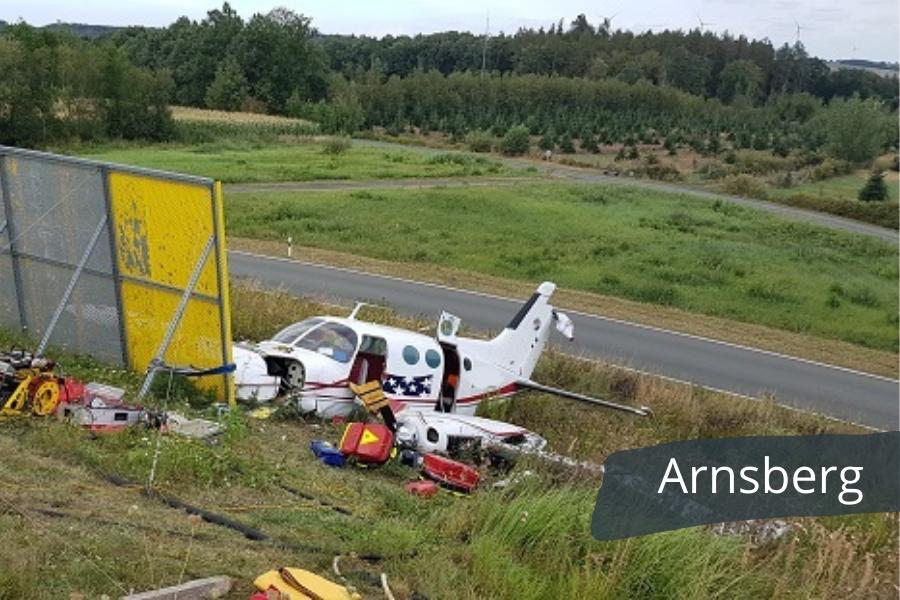Flugzeugabsturz In Arnsberg Dein Hsk Deine App Im Hochsauerland Mit Allen Wichtigen Infos Aus Der Region